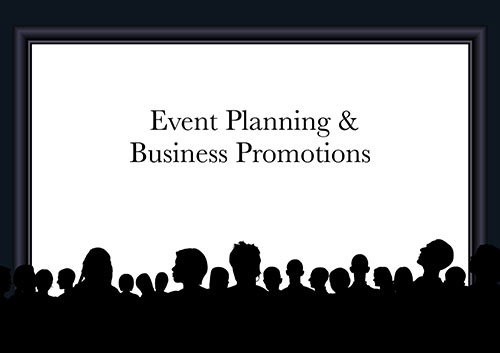 Event Planning & Business Promotions